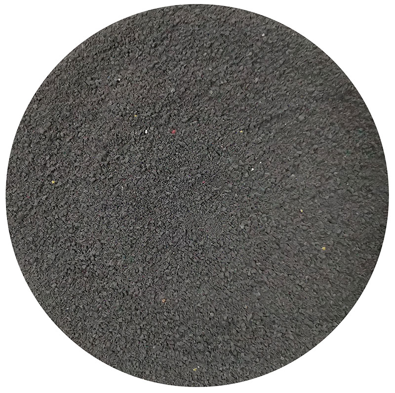black sbr rubber powder no tyre material