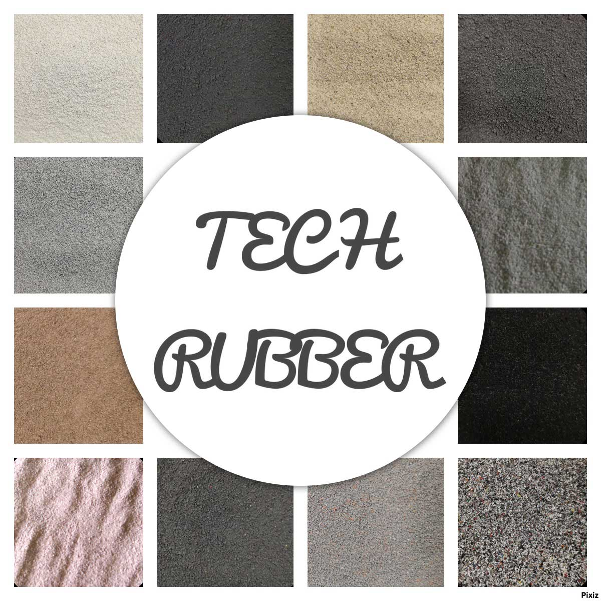 all rubber powder range production